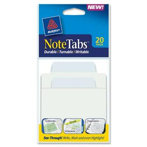 Avery NoteTabs Transparent File Tab AVE16330