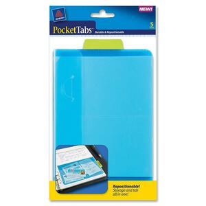 Avery PocketTabs Half Page Pocket Divider AVE16366