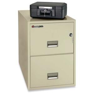 Sentry Safe Vertical Fire File Cabinet SEN2G2531P
