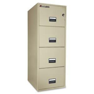 Sentry Safe Vertical Fire File Cabinet SEN4G2531P