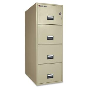 Sentry Safe Vertical Fire File Cabinet SEN4G3131P