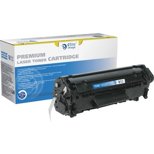 Elite Image Remanufactured HP 12A MICR Toner Cartridge ELI75392