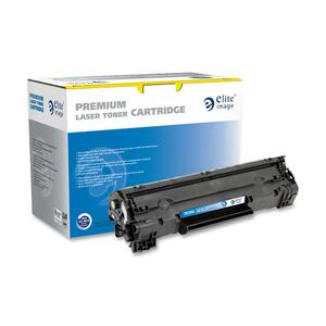 Elite Image Toner Cartridge - Remanufactured for HP - Black ELI75394