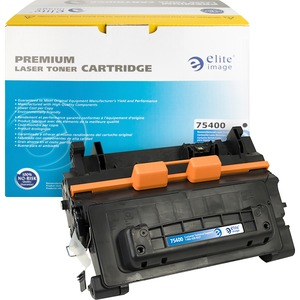 Elite Image Toner Cartridge - Remanufactured for HP - Black ELI75400