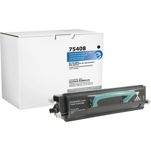 Elite Image Toner Cartridge - Remanufactured for Lexmark - Black ELI75408