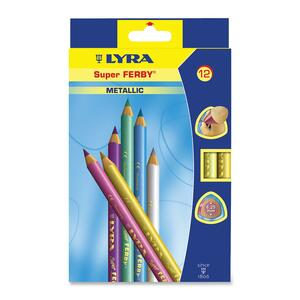 Dixon Super Ferby Metallic Colored Pencil DIX3721122