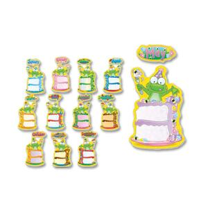 Carson-Dellosa Birthday Frog Bulletin Board Decoration Set CDP110112