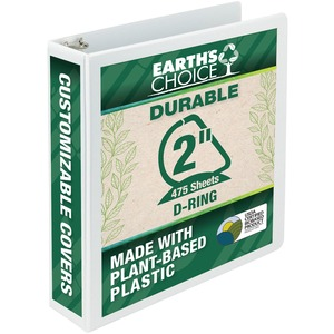 Samsill Earth's Choice Biodegradable D-Ring View Binder SAM16967