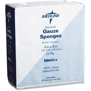Medline Woven Gauze Sponge MIINON25812