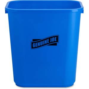 Genuine Joe Recycle Wastebasket GJO57257