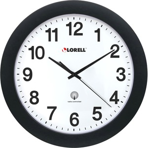 Lorell Radio Controlled Wall Clock LLR60997