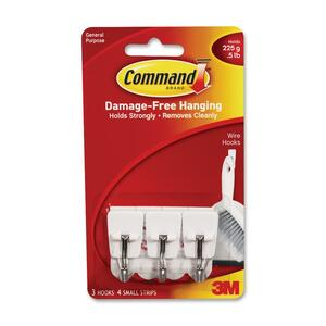 Command Utensil Small Wire Hook MMM17067
