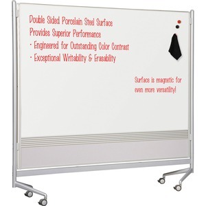 Balt Mobile Dry Erase Double-sided Partition BLT74762