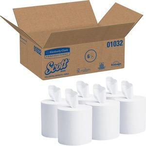 Kimberly-Clark Scott Center-Pull Dispenser Paper Towel KIM01032