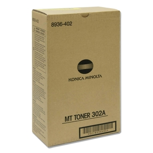 Konica Minolta Type 302A Black Toner Cartridge KNM8936402
