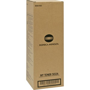 Konica Minolta Type 502A Toner Cartridge - Black KNM8936902