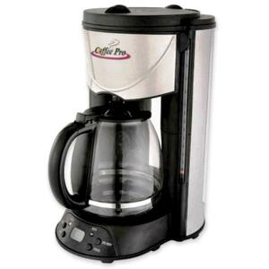 Coffee Pro European Style Programmable Coffeemaker CFPCP626T