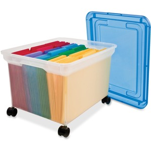 Advantus Rolling File Tote INN55796