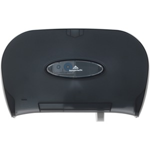 Georgia-Pacific Side-by-Side Covered Bathroom Tissue Dispenser GEP59206