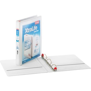 Cardinal XtraLife ClearVue Non-Stick Locking Slant-D Ring Binder CRD26300CB