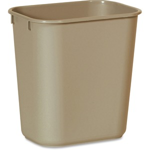 Rubbermaid 2955 Deskside Small Wastebasket RCP295500BG