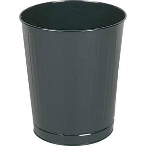 Rubbermaid WB26 Open Top Wastebasket RCPWB26BK