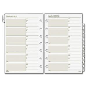 Day Runner Classic A-Z Tab Refills DRN0210100