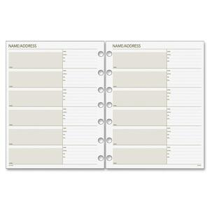 Day Runner Telephone/Address Planner Pages DRN018230