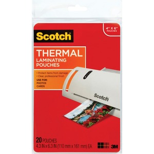 Scotch Thermal Laminating Pouch MMMTP590020