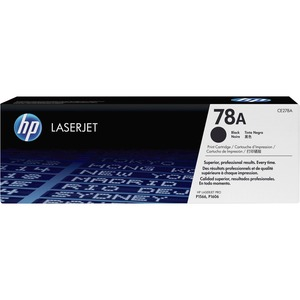 HP 78A (CE278A) Black Original LaserJet Toner Cartridge HEWCE278A