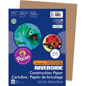 Riverside Groundwood Construction Paper PAC103612