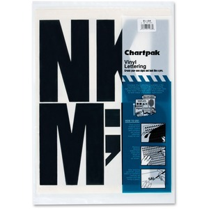 Chartpak 01184 Press-On Uppercase Letter CHA01184