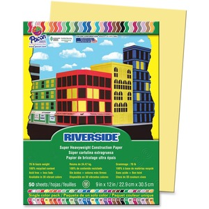 Riverside Acid Free All-Purpose Construction Paper PAC103966