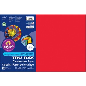 Tru-Ray Heavyweight Construction Paper PAC103432