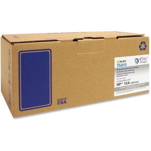 Elite Image Remanufactured HP 12A Toner Cartridge ELI75413
