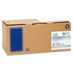 Elite Image Toner Cartridge - Remanufactured for HP - Black ELI75416