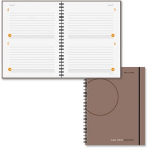 At-A-Glance Undated Planning Notebook AAG80620430