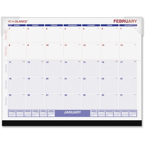 At-A-Glance Recycled Desk Pad Calendar AAGSKLKFW32