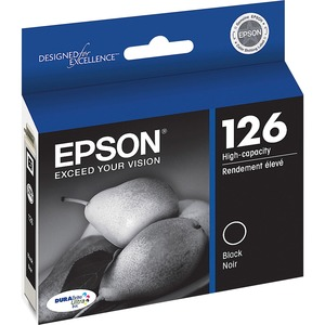 Epson DURABrite 126 Ink Cartridge - Black EPST126120