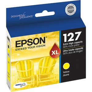Epson DURABrite Ink Cartridge - Yellow, Yellow EPST127420