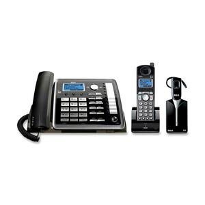RCA 25270RE3 DECT Cordless Phone - Black, Silver RCA25270RE3