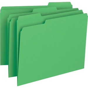 Business Source Color-coding Top Tab File Folder BSN65777