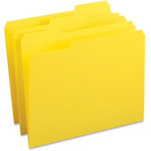 Business Source Color-coding Top Tab File Folder BSN65778