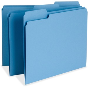 Business Source Color-coding Top Tab File Folder BSN65779
