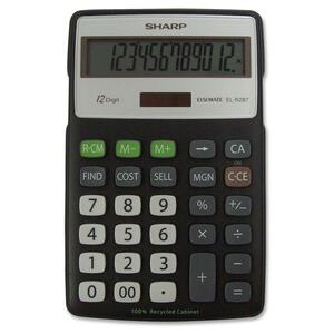 Sharp ELR287 Recycled Calculator SHRELR287BBK