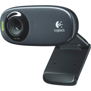 Logitech C310 Webcam - Black - USB 2.0 - 1 Pack(s) LOG960000585
