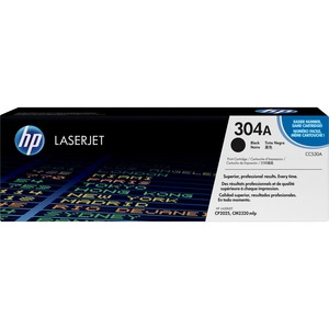 HP 304A Black Original LaserJet Toner Cartridge for US Government HEWCC530AG