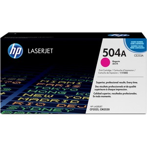 HP 504A (CE253AG) Magenta Original LaserJet Toner Cartridge for US Government HEWCE253AG