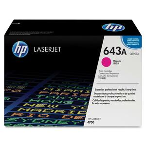 HP 643A (Q5953AG) Magenta Original LaserJet Toner Cartridge for US Government HEWQ5953AG