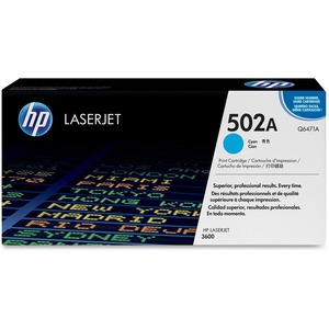 HP 502A Toner Cartridge - Cyan HEWQ6471AG